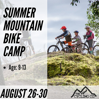 Summer Mountain Bike Camp - August 26-30