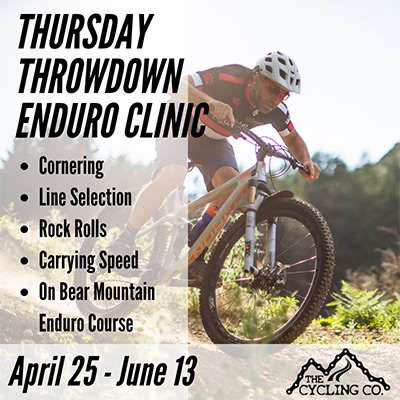 Thursday Throwdown Enduro MTB Clinic 2019