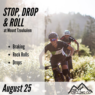 Stop Drop & Roll Mountain Bike Clinic - August 25