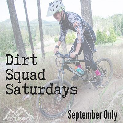 Dirt Squad Saturdays - September 2019