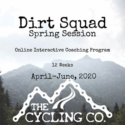 Dirt Squad Coaching Program - Spring 2020