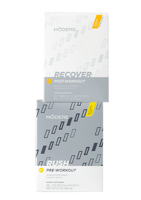 Modere Rush & Recover Supplements
