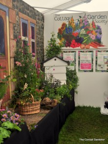 The Cottage Garden Society display
