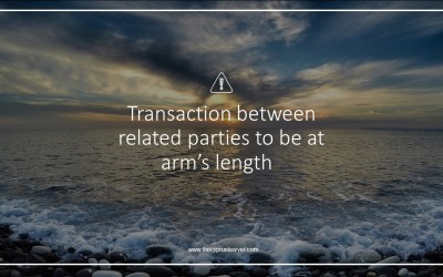 Tip 3.1 – Cyprus Tax – Related Party Transactions to be at arm's length in Cyprus