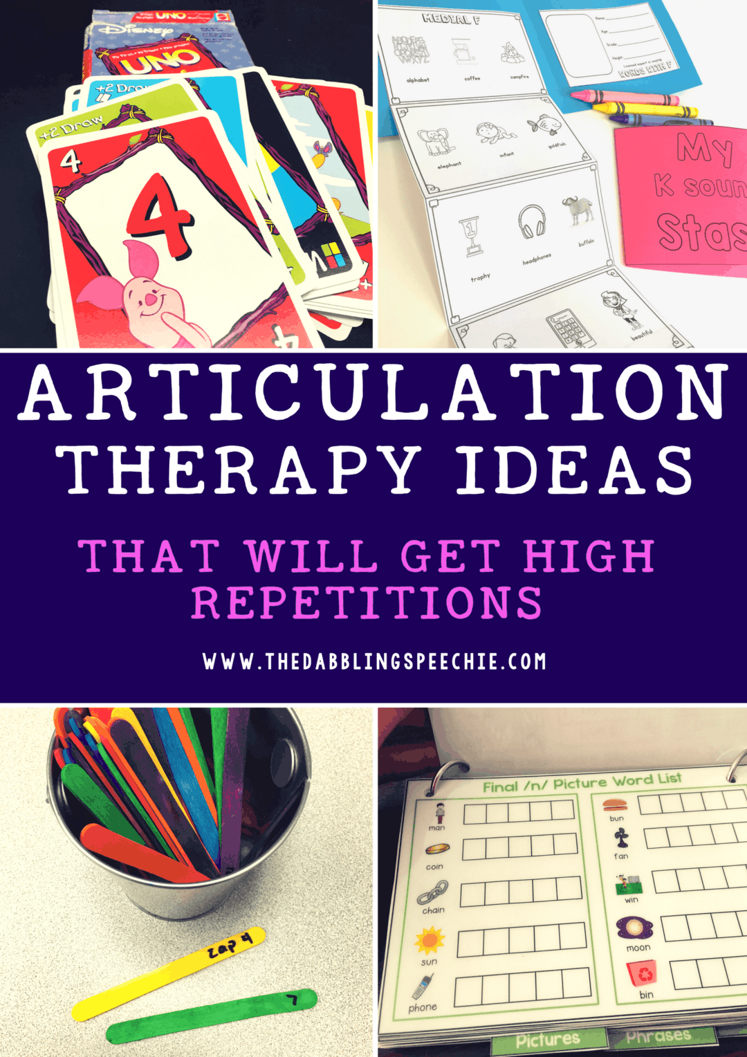 Articulation Ideas That Will Get High Repetitions