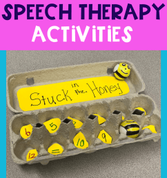 Bee Activities for Elementary Speech Therapy   The Dabbling Speechie [ 1102 x 735 Pixel ]