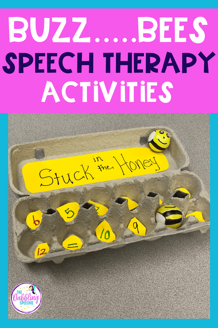 hight resolution of Bee Activities for Elementary Speech Therapy   The Dabbling Speechie