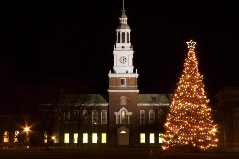 Christmas events in New England