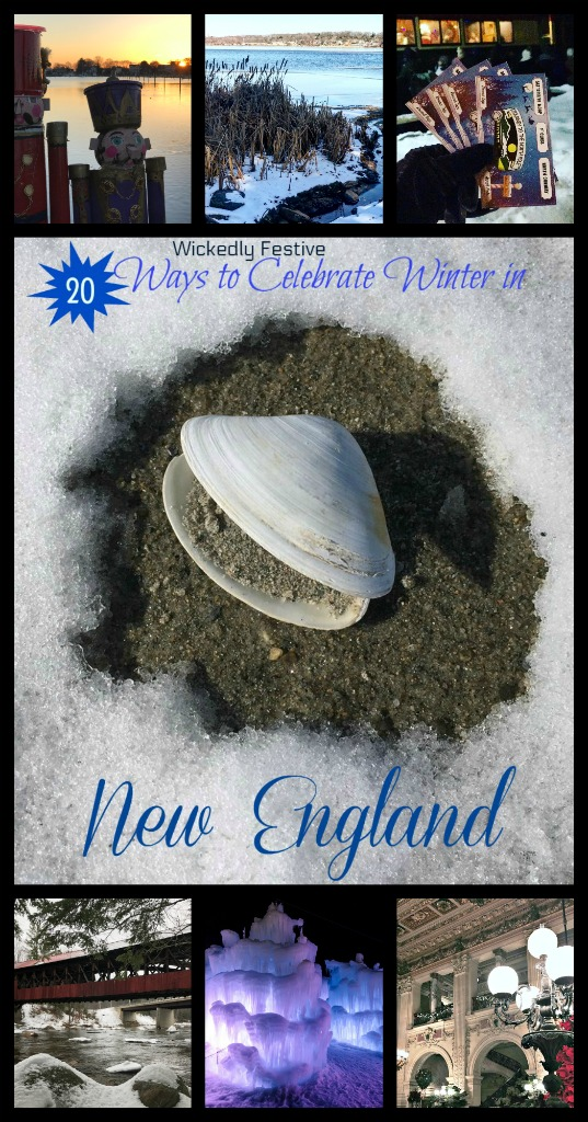 Plan at trip to New England this winter including holiday activities in New England ! #winter #travel