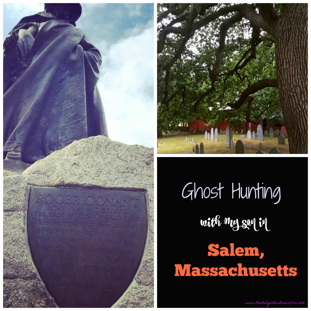 Ghost Hunting in Salem, Massachusetts With My Boy- a perfect Salem ghost tour. www.thedailyadventuresofme.com