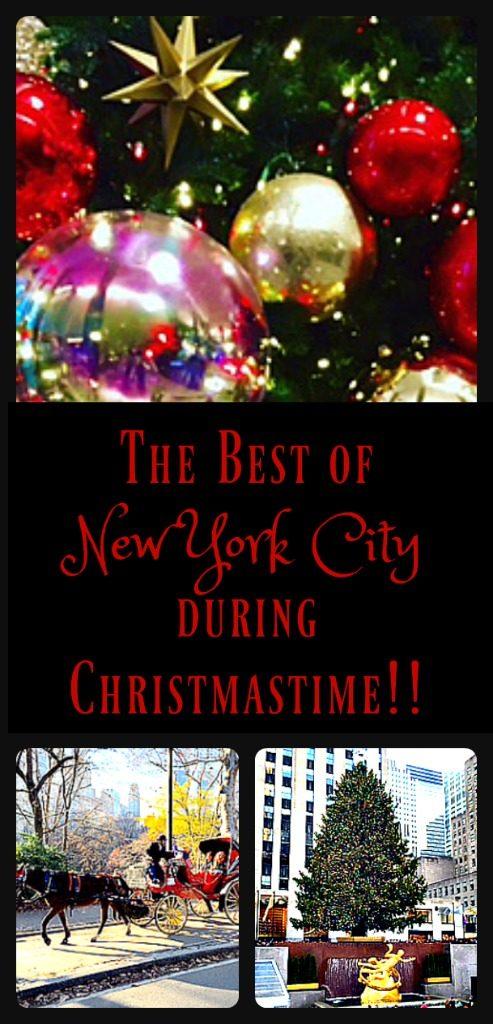 Nothing beats NYC at Christmastime! www.thedailyadventuresofme.com