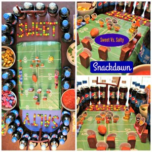 Sweet vs. Salty: A Snack Stadium Snackdown