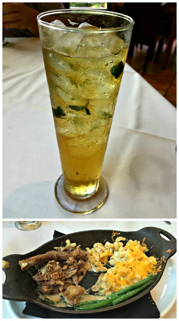 The highlights from our Middlgeton Place dinner eaten on our Charleston road trip.