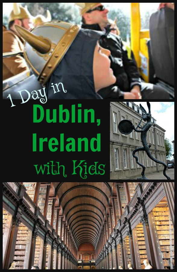 Read on for the best way to spend your 24 hours in Dublin with kids. #Europe #Ireland #Dublinwithkids #24hoursinDublin