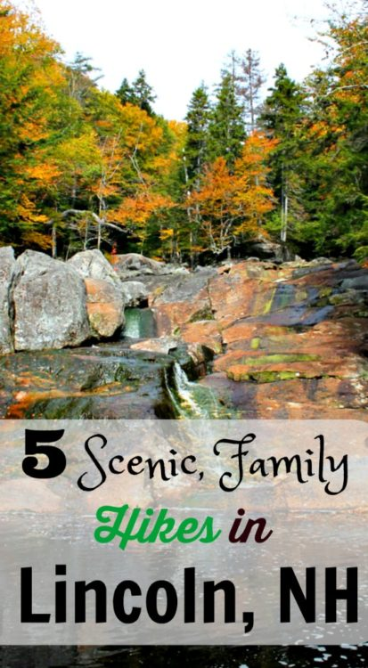 5 Scenic, Family Hikes in Lincoln New Hampshire