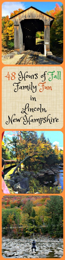 Enjoy at autumn weekend in New Hampshire's White Mountains with Your Family! www.thedailyadventuresofme.com