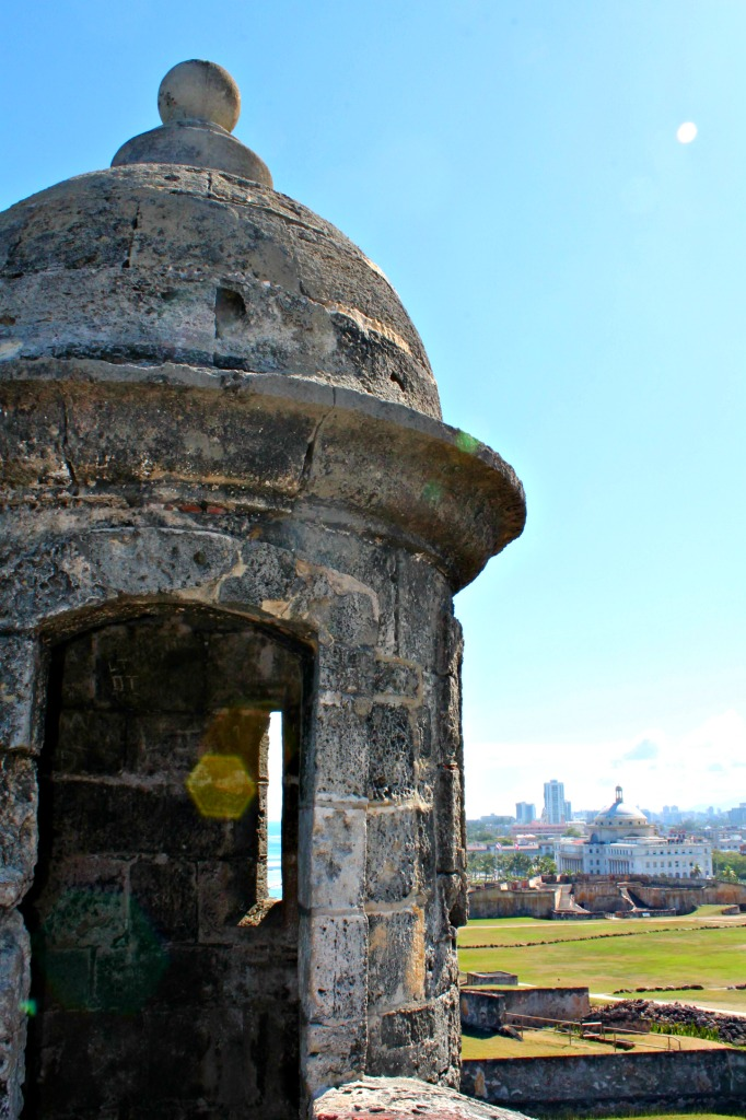 Learn about the Caribbean's colonial history by exploring the forts of Old San Juan, Puerto Rico. www.thedailyadventuresofme.com