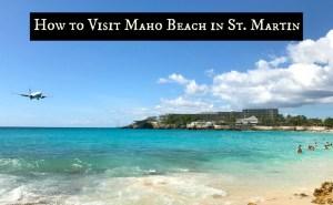 Bucket List Travel: Airplane Beach Sint Maarten