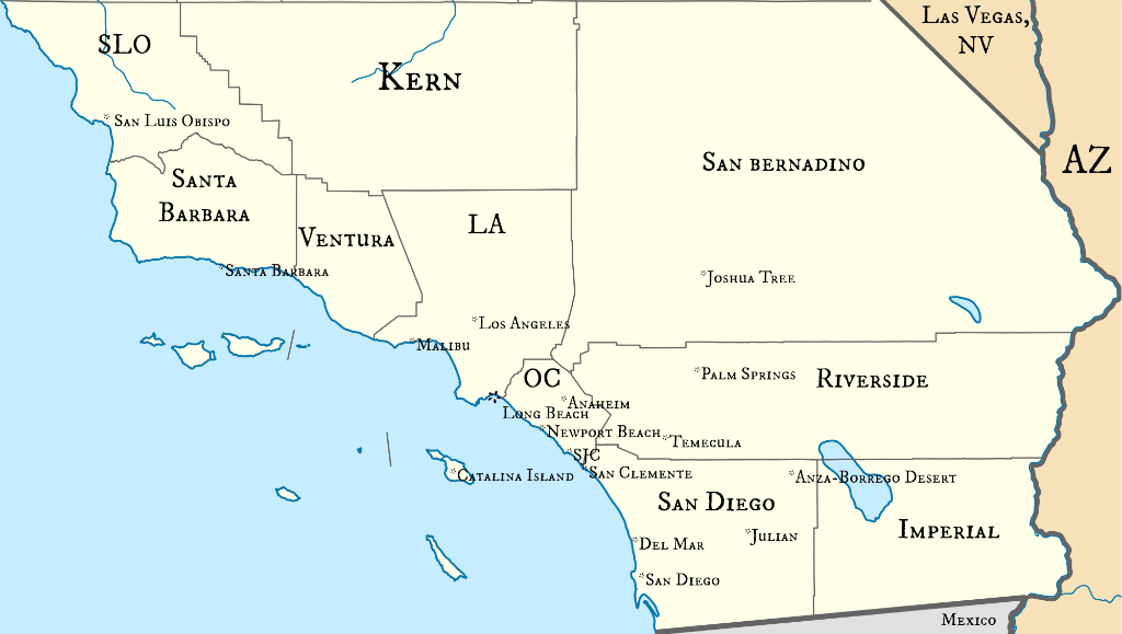 Plan a trip to southern California. www.thedailyadventuresofme.com