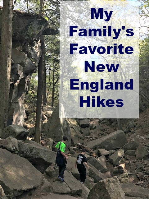 Get out into the forests and coastline of New England with these fantastic family hikes. #NewEnglandHikes #thingstodoinNewEngland #NewEnglandFamilyactivities