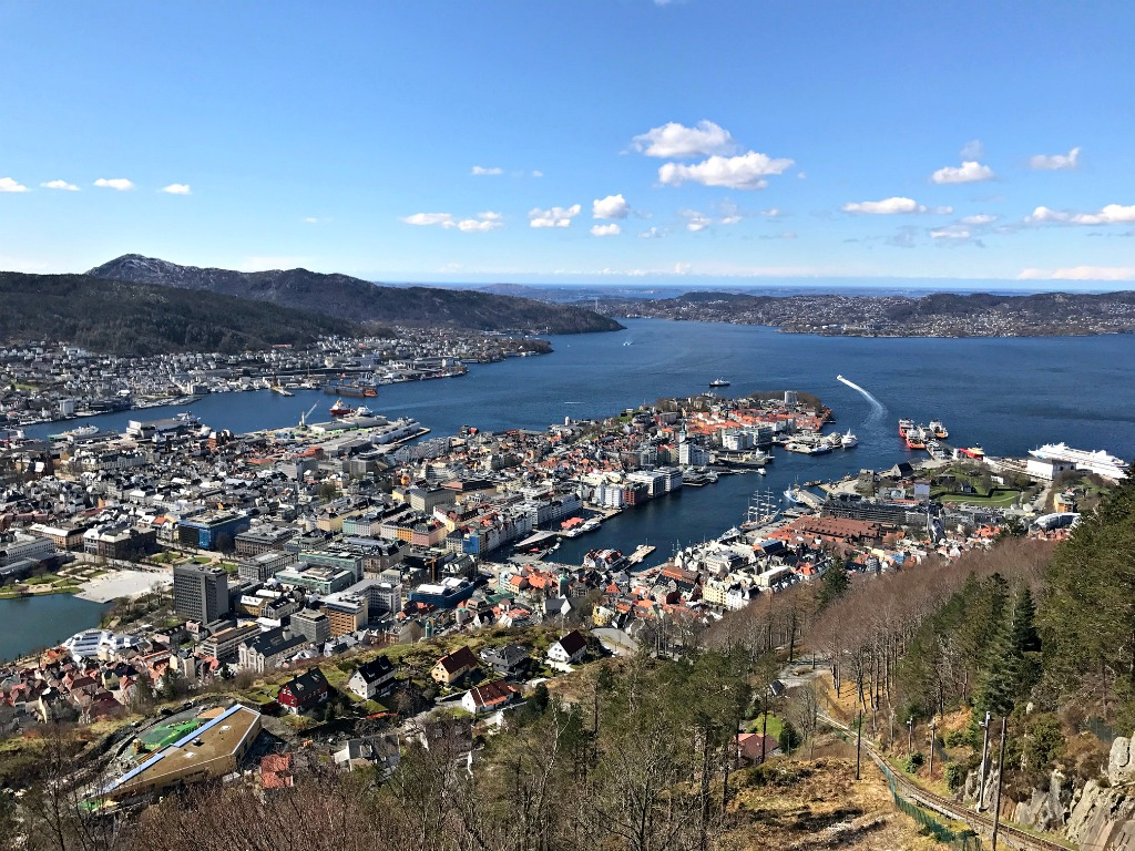 Bergen Bay funicular thedailyadventuresofme.com