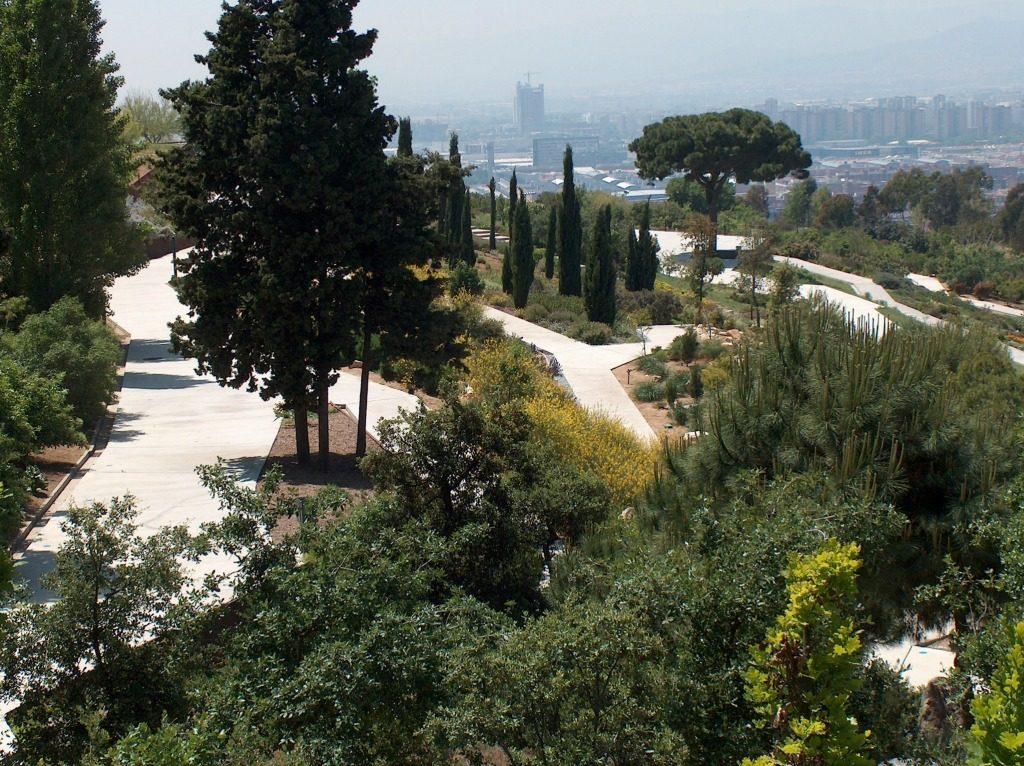 Barcelona Botanical Gardens in Barcelona, Spain