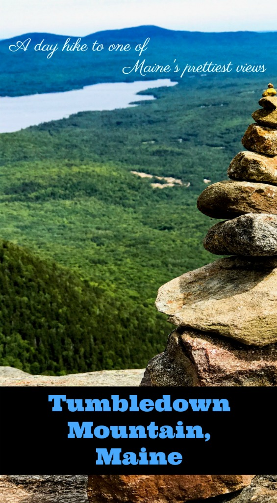 Explore one of Maine's prettiest views on a hike up Tumbledown Mountain in Maine's western mountains. You can even fish, swim and camp when you reach the top!