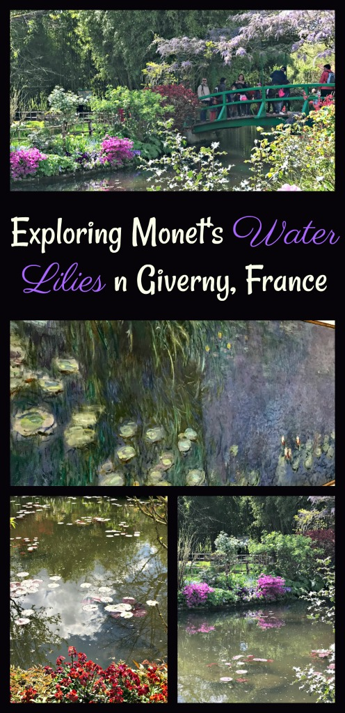 Monet's Water Lilies is one of my favorite pieces of art. Join me in exploring the real gardens that inspired Monet's famous paintings in Giverny, France.