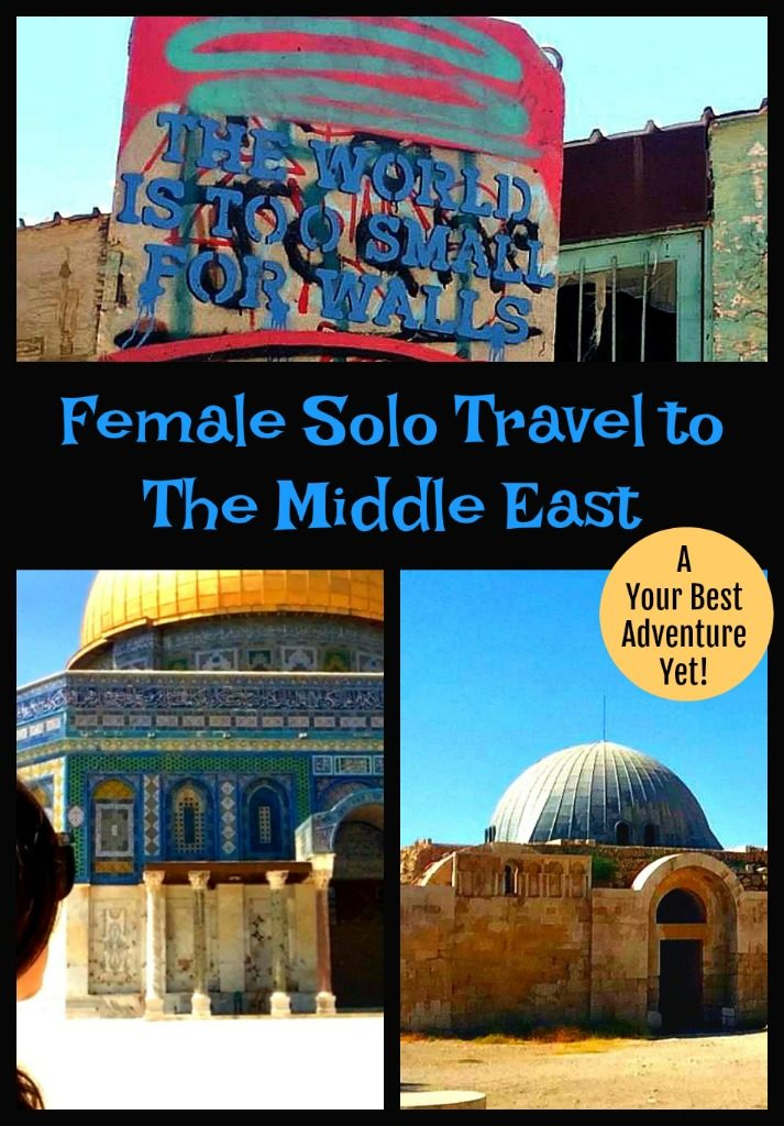 Read to hear about Michelle's adventures as a woman travelling alone through Israel, Palestine, Jordan and Egypt. thedailyadventuresofme.com