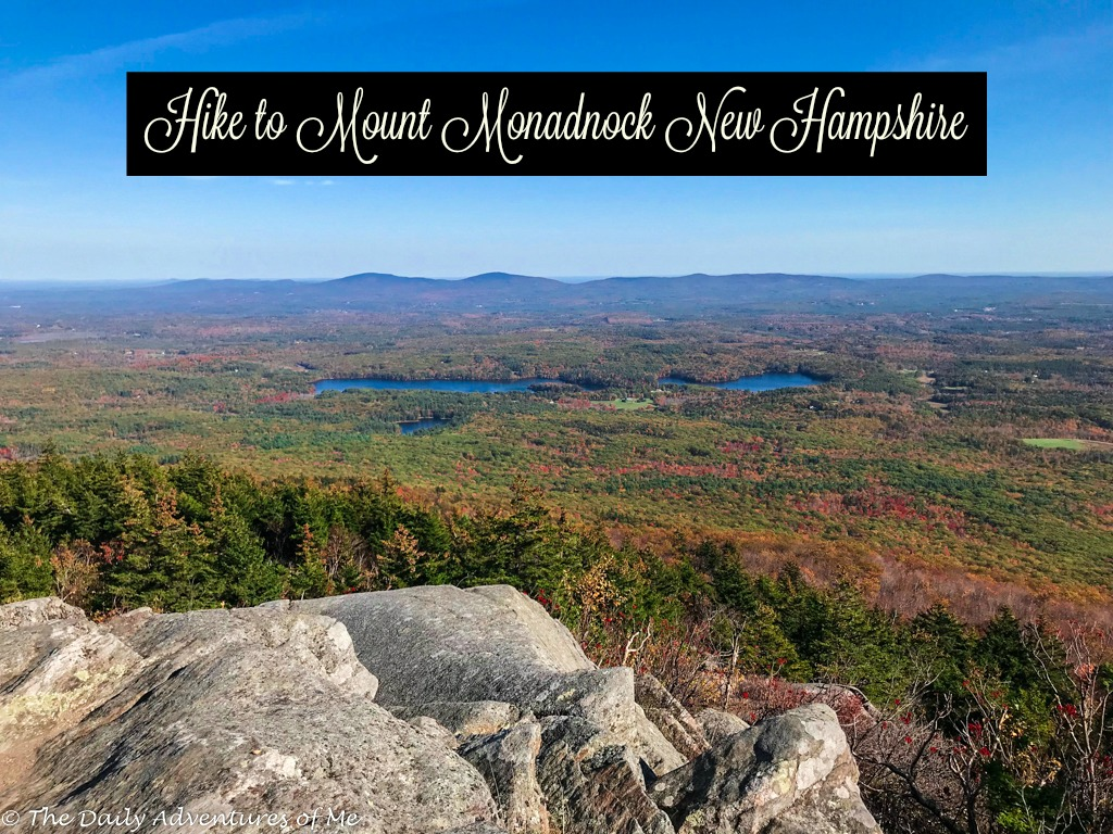 Mount Monadnock in New Hampshire is a pretty tough hike. However the reward  of 360 degree views over New Hampshire's trees and lakes is worth it.