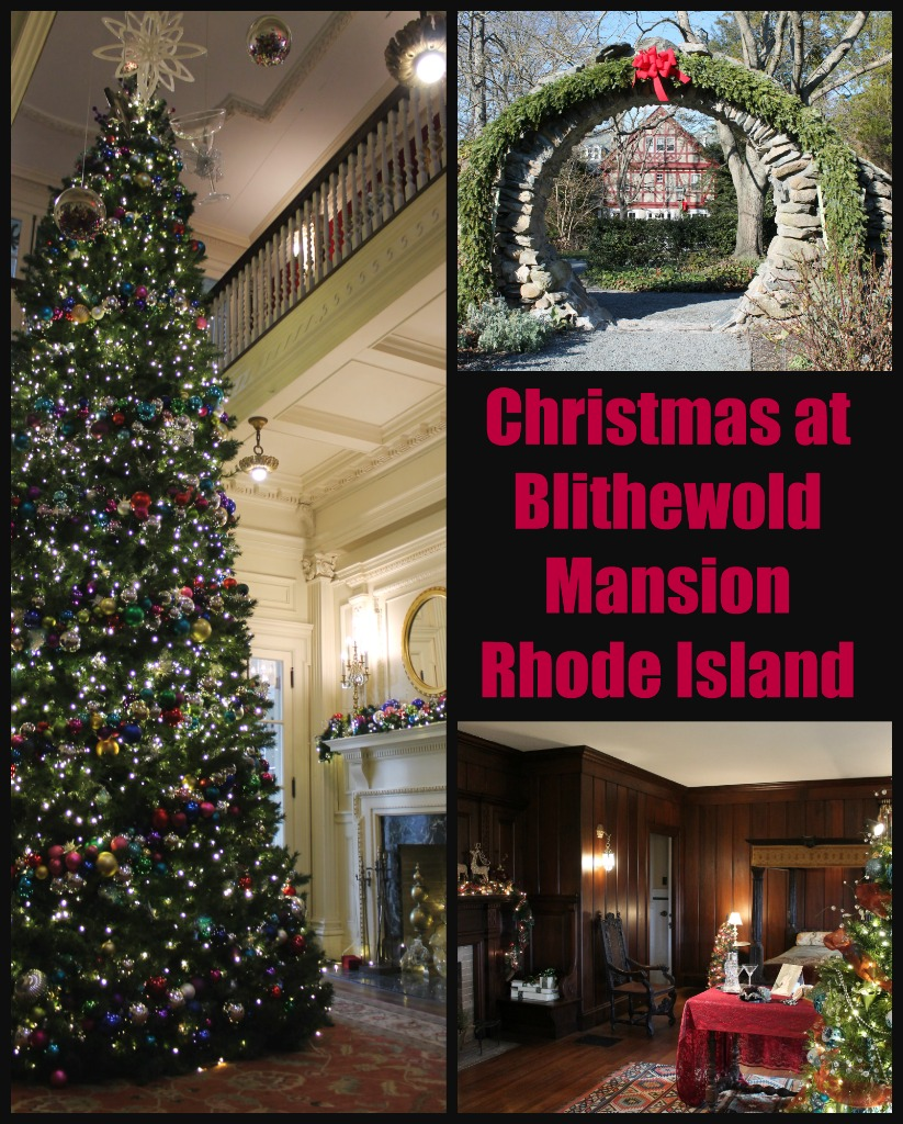 See Blithewold Mansion in Bristol, Rhode Island all decorated for the holidays or take in a Christmas tea.