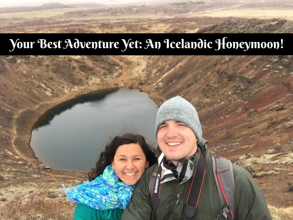 My honeymoon in Iceland.