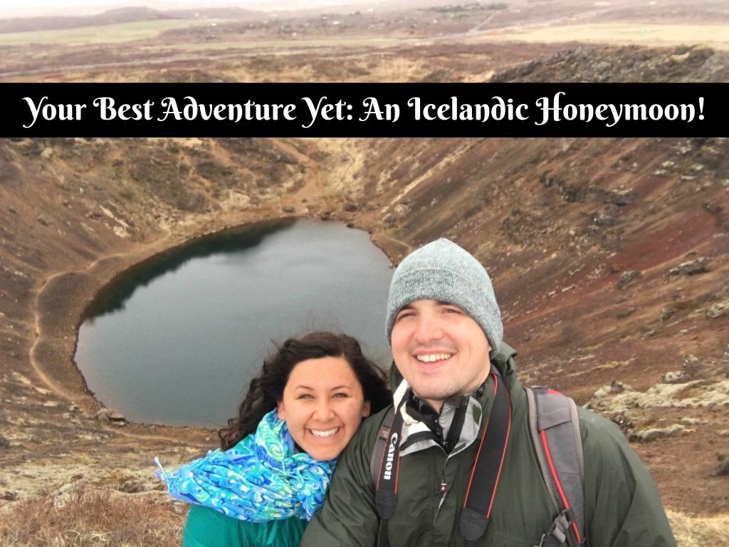 My honeymoon in Iceland.