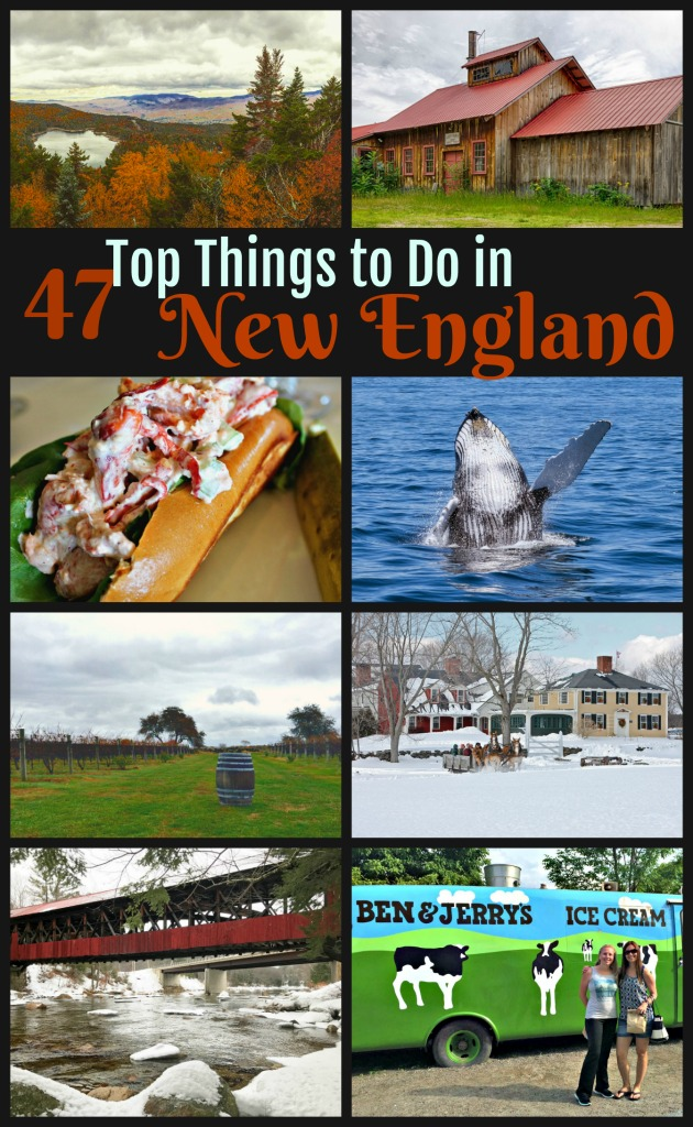 Are you looking for fun things to do in New England? Check out my New England bucket list... part of my 47 fabulous things series. #TravelNewEngland #TBIN #NewEngland #NewEnglandRoadTrip