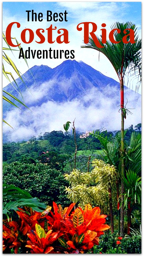 Dream of reading the pura vida in Costa Rica, the land of adventures and gorgeous scenery. Read on for my favorite adventures available in Costa Rica. #CostaRicaAdventures #CostaRica #volcano #CostaRicahikes #exploreArenalVolcano