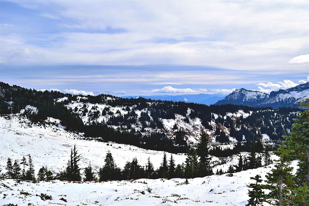 Mt Rainier National Park in October