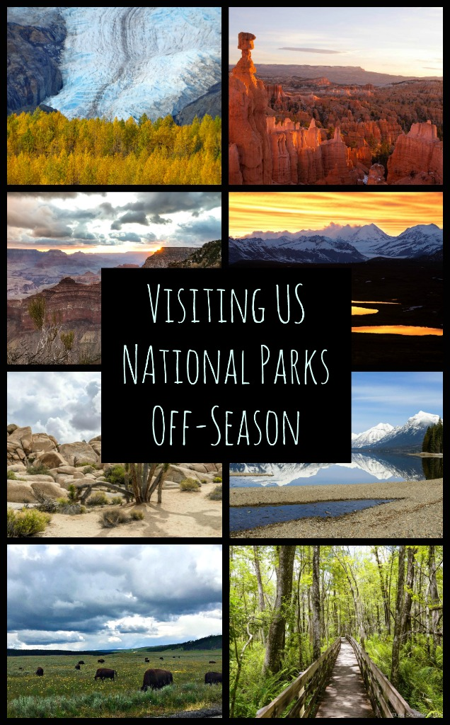 Whether striking deserts, evergreen forests set on dramatic cliffs over the ocean or harsh hills, some of the best vacations are explorations of nature and some of the best national parks in the world are in the United States. Explore the best of US' National Parks off season. #USTravel #springinnationalparks #wintertravels #fallinnature