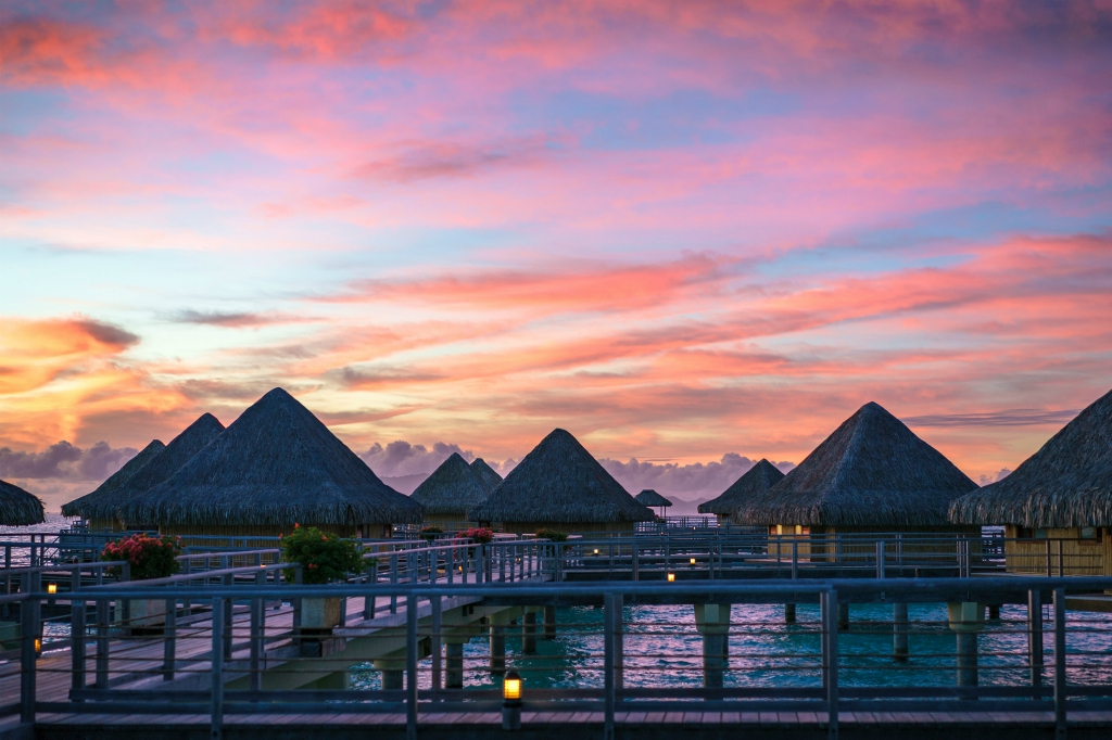 Vaitape, Bora Bora, Tahiti
