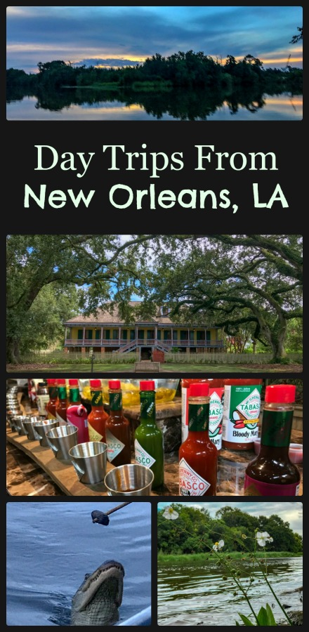 Explore some very Louisiana things to do just outside of New Olreans, Louisiana- swamps, plantations, even the Tabasco Factory! #daytripsoutsideofNewOrleans #ExploreLouisiana #NewOlreans #Louisiana