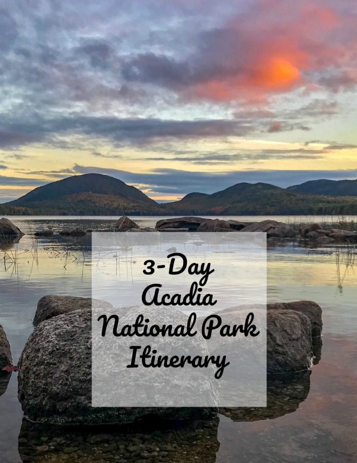 Food, explorations, hiking and the must-see sights in Acadia National Park, Maine, USA. #thingstodoinAcadiaNationalPark #fallactivitiesinAcadia
