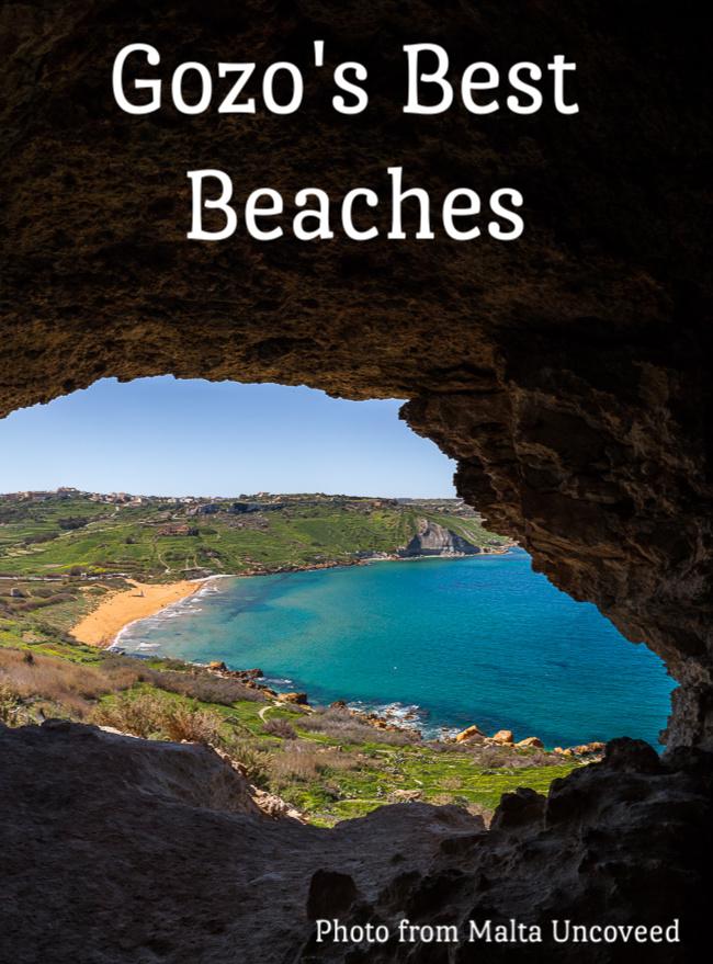 Explore the best beaches in Gozo. #europeantravels #beaches #gozo