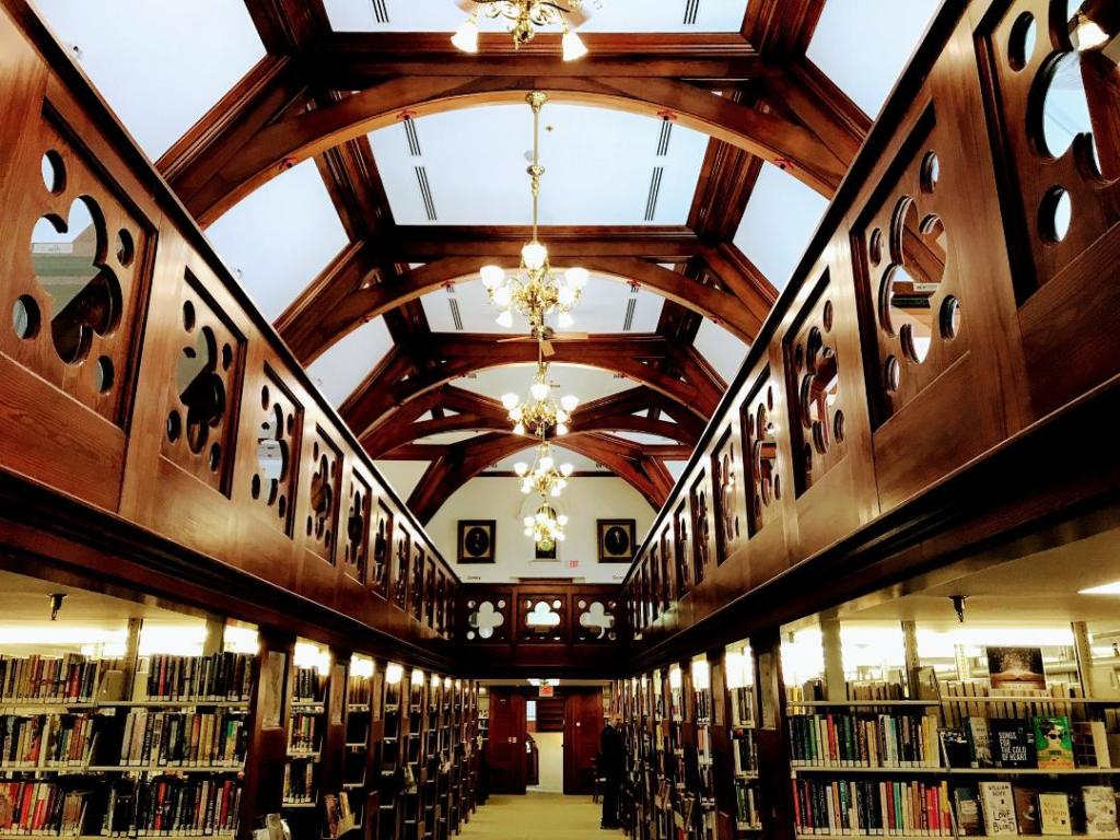 Library in Woodstock, Vermont