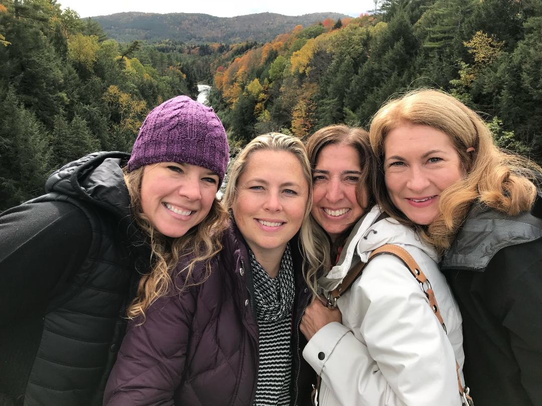 Girls weekend in Vermont.