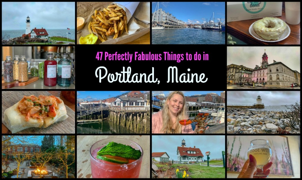 A weekend in Portland Maine