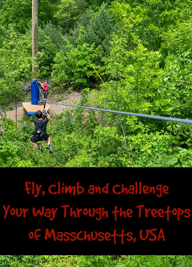 Are you looking for a fun, family activity in New England? Visit the obstacle courses and ziplines in MA at Boundless Adventures! #TBIN #c2cgroup #familyactivitesMA #thingstodoinMA #hosted @BoundlessAdventuresMA