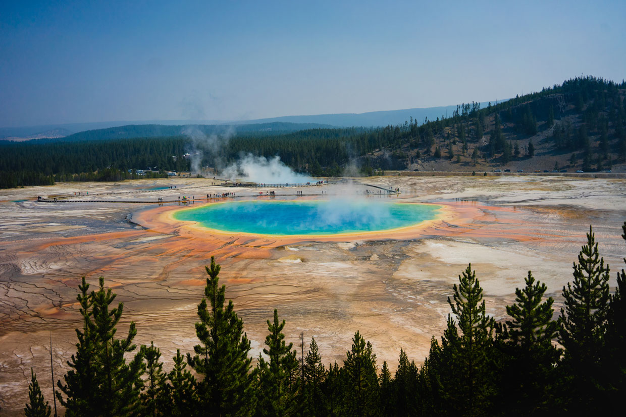 A fall visit to Yellowstone, Wyoming