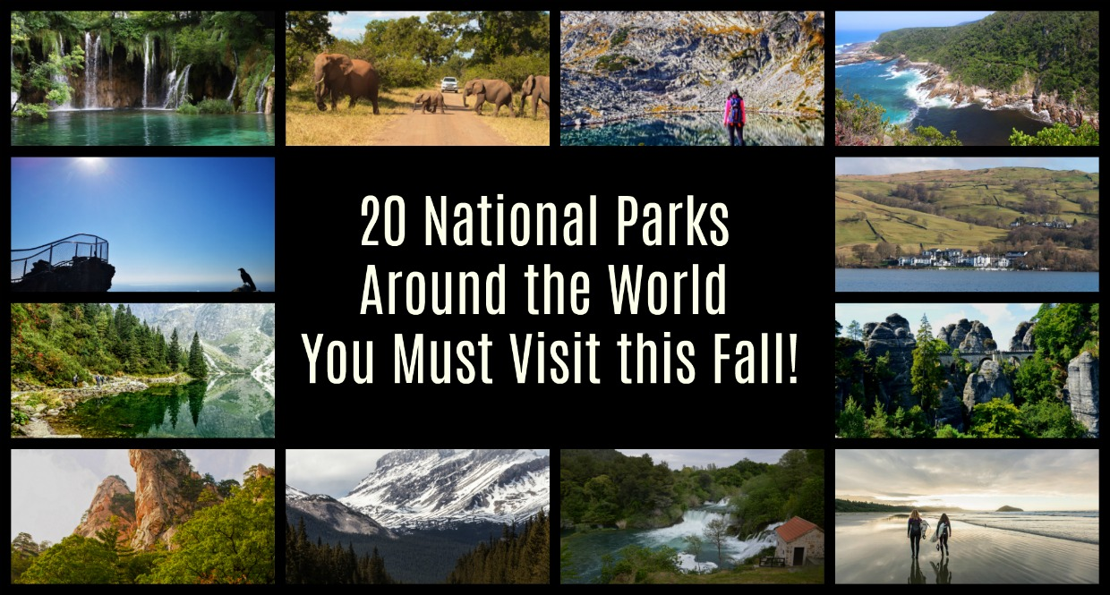 The Best National Parks to Visit in the Fall