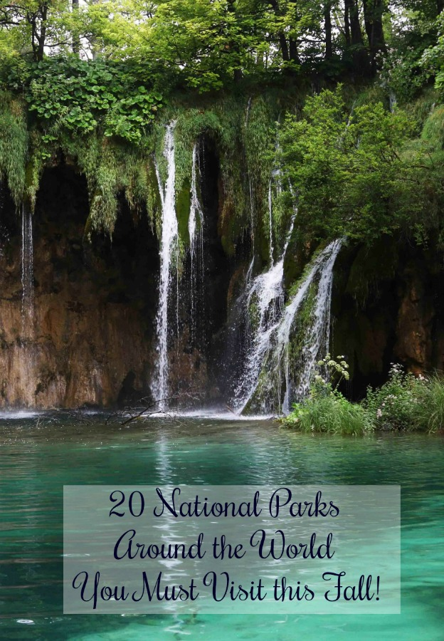 Get out into one of these National Parks around the world this fall! Read on for 20 of traveller's favorites! #nationalparks #nationalpark #autumntrips