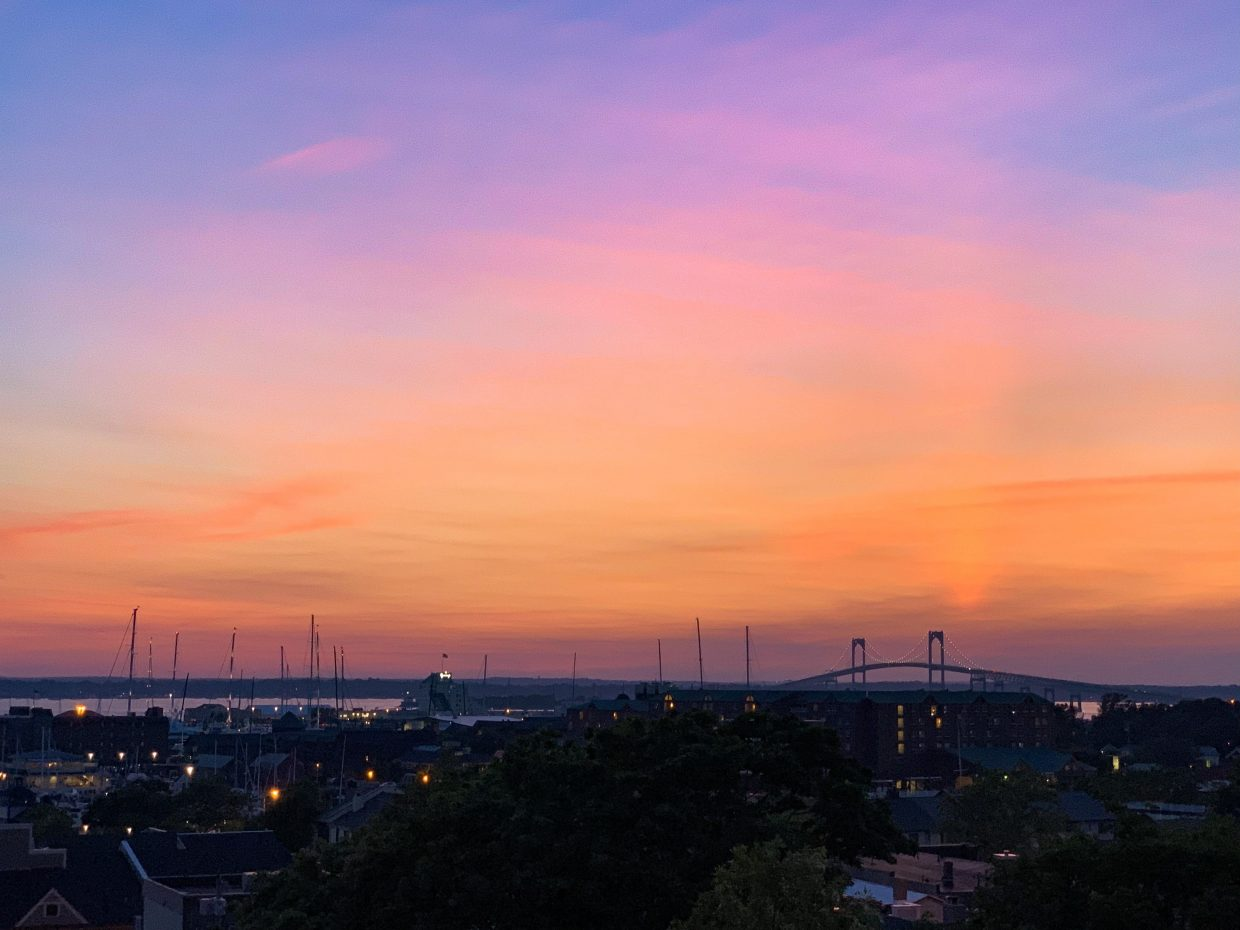 Best place to see the sunset in Newport, Rhode Island