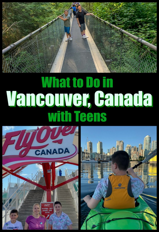 With plenty of active adventures to chose from, Vancouver, BC, Canada is the perfect spot for a family vacation with teens. Read on for my two-day Vancouver itinerary for families. #thingstodoinVancouverwithkids #Canadatravel #VancouverAdventures #hosted @flyovercanada @capbridge